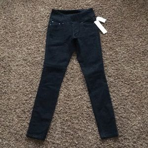 Women's High Rise Skinny Jag Pull Up Jeans Sz 0